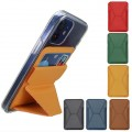 Mercury Goospery Adhesive Magnetic Cell Phone Stand Card Holder [Navy]