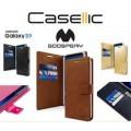 Mercury Goospery Bluemoon Diary Case for Samsung Galax A22 5G SM-A226 [Wine]