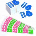 Dry-Wet Wipes For Tempered Glass Screen Protectors Accessories Alcohol Pad Mobile Screen Cleaning Cloth 390sets/lot