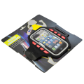 Universal Armband Size Small for Small Smart Phone iP4/5/SE/Sam S3 [Black with Red ]