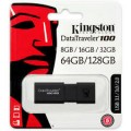 Kingston DataTraveler 100 G3  128GB USB3 Flash Drive DT100G3/128GB