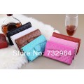 Hand Bag Flip Leather Case For Iphone 5/5S [Blue]