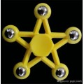 Five-pointed Star Fidget Spinner [Yellow]- High quality ball bearing