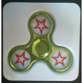 Electroplated Fidget Spinner Star [Green]