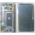 Samsung Galaxy S8 OLED and Touch Screen Assembly with frame [Gold]