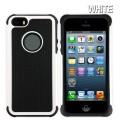 Heavy Duty Tough Case for iPhone 5S/5/SE [White]