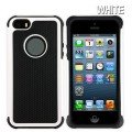 Heavy Duty Tough Case for iPhone 5S/5/SE [White]