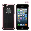 Heavy Duty Tough Case for iPhone 5S/5/SE [Pink]