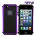 Heavy Duty Tough Case for iPhone 5S/5/SE [Puple]