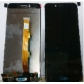 Oppo A77 LCD and Touch Screen Assembly [Black]