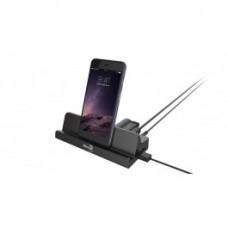 Aerocool ASA P37A000 USB3.0 HUB Docking w/ 4 Port USB 3.0 and 2 USB high speed Charging Ports