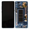 Samsung Galaxy Note 8 OLED and Touch Screen Assembly with frame [Deep Sea Blue]