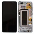 Samsung Galaxy Note 8 OLED and Touch Screen Assembly with frame [Orchid Gray]