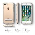 Spigen Crystal Hybrid Metal KicksStand Case for iPhone 6/6S Plus [Gold]