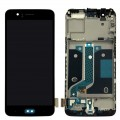 OnePlus 5 LCD and Touch Screen with Frame Assembly [Black]
