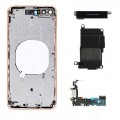 iPhone 8 Housing with Glass, Charging Port and Power volume Flex Cable [Gold][High Quality]