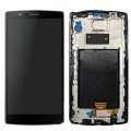 LG G4 LCD and Touch Screen Assembly with frame [Black]