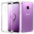 Air Bag Cushion DropProof Crystal Clear Soft Case Cover For Samsung Galaxy S9P [Black]