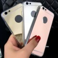 Slim Metal Mirror Case for iphone 6/6S [Rose Gold]