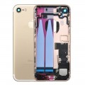 iPhone 7 Housing with Charging Port and Power Volume Flex Cable [Gold]
