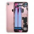 iPhone 7 Housing with Charging Port and Power Volume Flex Cable [Rose Gold]