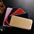 Ultra Slim Magnetic Leather Stand Wallet Flip Cover Protective Shell For Samsung S9P [Dark Blue]