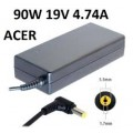 19V 4.74A 90W 5.5 *1.7 AC Power Adapter Charger for Acer Laptop