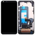 LG Q6 Touch Digitizer and LCD Display Assembly with frame [Black]