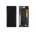 Samsung Galaxy Note 9 OLED and Touch Screen Assembly with frame [Metallic Copper]