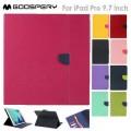 """Mercury Goospery Fancy Diary Case For Apple iPad Pro 9.7"""" [Purple]"""