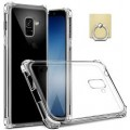 Air Bag Cushion DropProof Crystal Clear Soft Case Cover For Samsung Galaxy J5 Pro J530 [Black]
