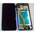 Huawei Nova 3i LCD and Touch Screen Assembly with Frame [Blue]