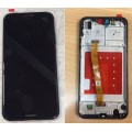 Huawei P20 Lite / Nova 3E LCD and Touch Screen Assembly with Frame [Black]