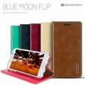 Goospery Bluemoon Flip Case for Samsung Galax Note 9 [Red]