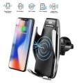 S5 Smart Sensor Car Wireless Charger Phone Holder