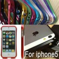 Deff Cleave Aluminum Metal Frame bumper Case for iphone 5 /5S/SE [Blue]