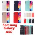 Mercury Goospery Soft Feeling Jelly Case for Samsung Galax A50 /A50S /A30S [Mint]