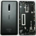 Nokia 5 Back Cover with frame [Black]