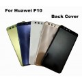 Huawei P10 Back Cover with frame [Black]