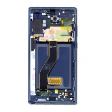 Samsung Galaxy Note 10 5G LCD and Touch Screen Assembly with frame [Black]