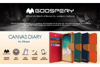 Goospery Canvas Diary Case for iPhone 11 Pro (9)