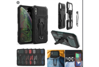 i-Crystal Mecha Warrior Back Clip Series Case For iPhone X/XS (6)