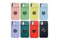 Slide Camera Lens Protection Kickstand Soft Case for iPhone X/XS (7)